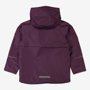 3 in 1 Shell & Puffer Combo-6-12y-Purple-Girl