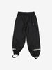 Waterproof Pull On Kids Shell Trousers-2-12y-Black-Boy