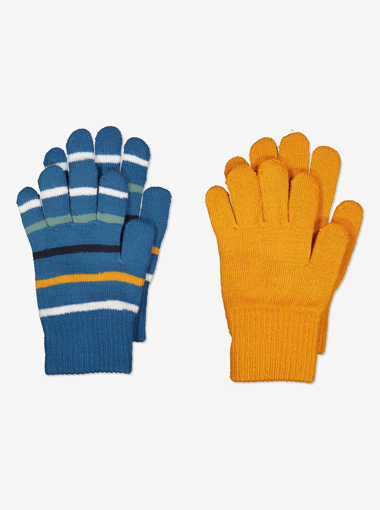 Two Pack Kids Magic Gloves-6m-12y-Blue-Boy