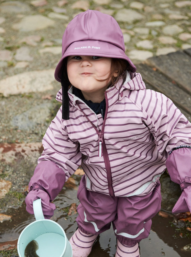 Pink Waterproof Kids Raincoat