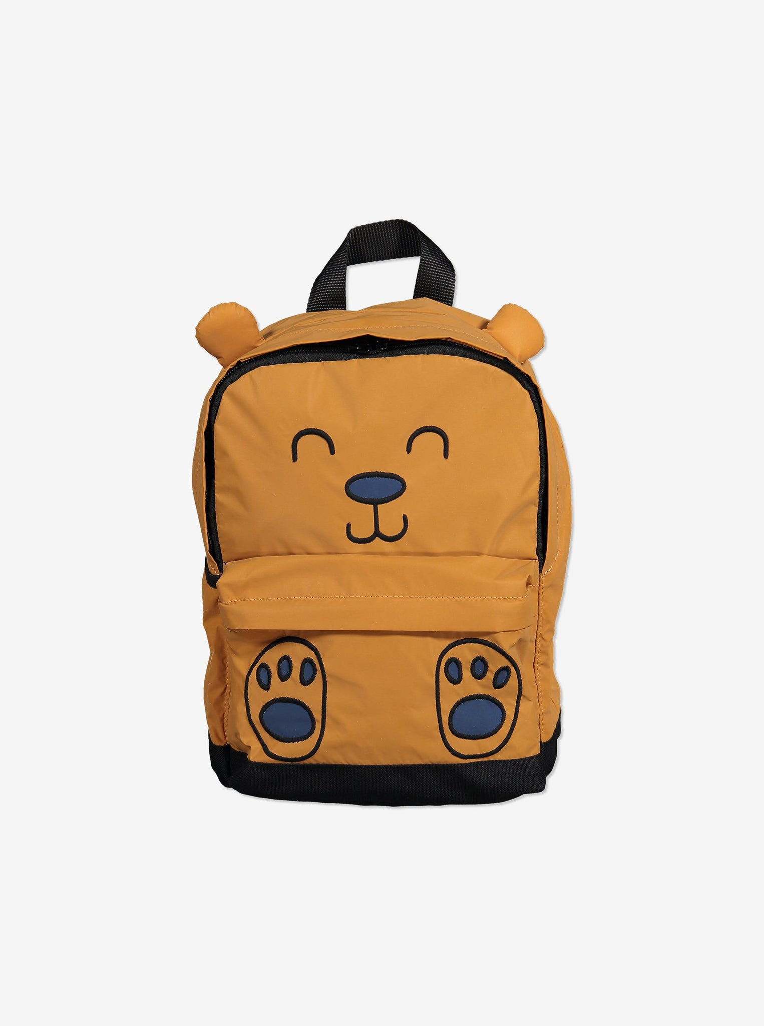 Kids Bear Backpack-Unisex-One Size-Brown