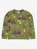 Forest Fun Kids Top-Unisex-1-8y-Green