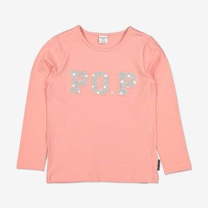PO.P Applique Kids Top-Girl-1-6y-Pink