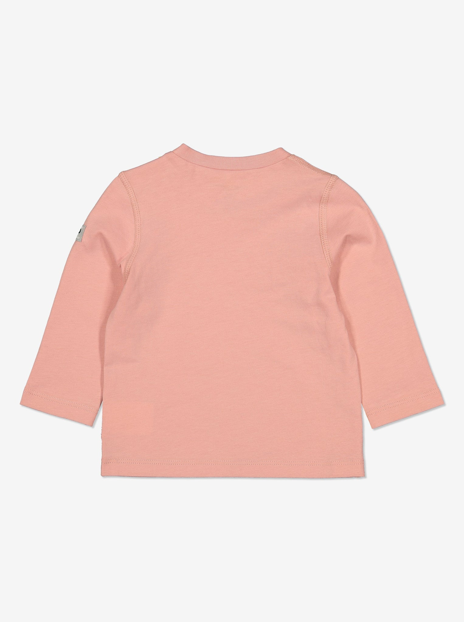 Organic Baby Top-Girl-2m-1y-Pink