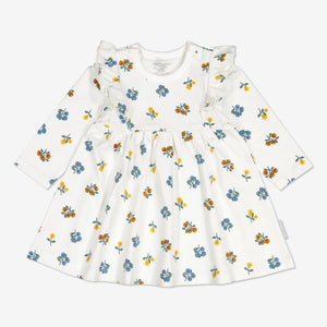 Floral Baby Dress-Girl-0-1y-Natural