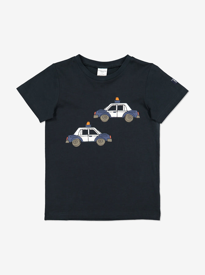 Organic Kid T-Shirt-Unisex-1-6y-Navy