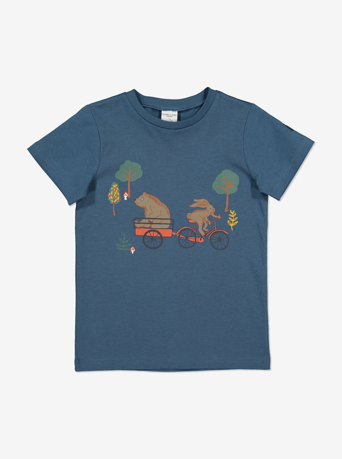Organic Kid T-Shirt-Unisex-1-6y-Blue