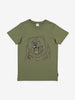 Organic Kid T-Shirt-Unisex-6-12y-Green