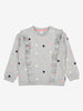 Polka Dot Kids Sweatshirt-Unisex-1-6y-Grey