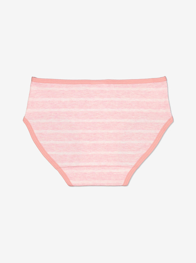 Striped Girls Briefs-Girl-1-12y-Pink