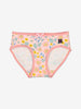 Floral Girls Briefs-Girl-1-12y-Pink