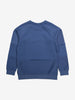Herringbone Kids Sweatshirt-Unisex-6-12y-Blue