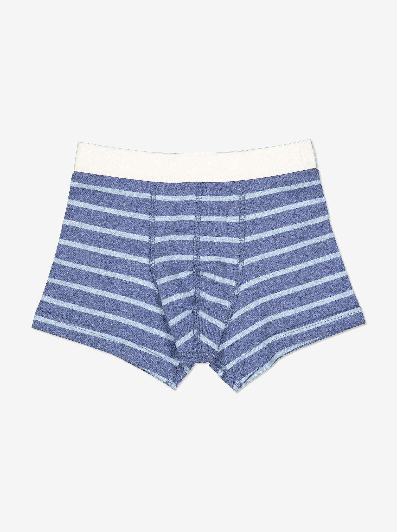 Striped Boys Boxers-Boy-1-12y-Blue