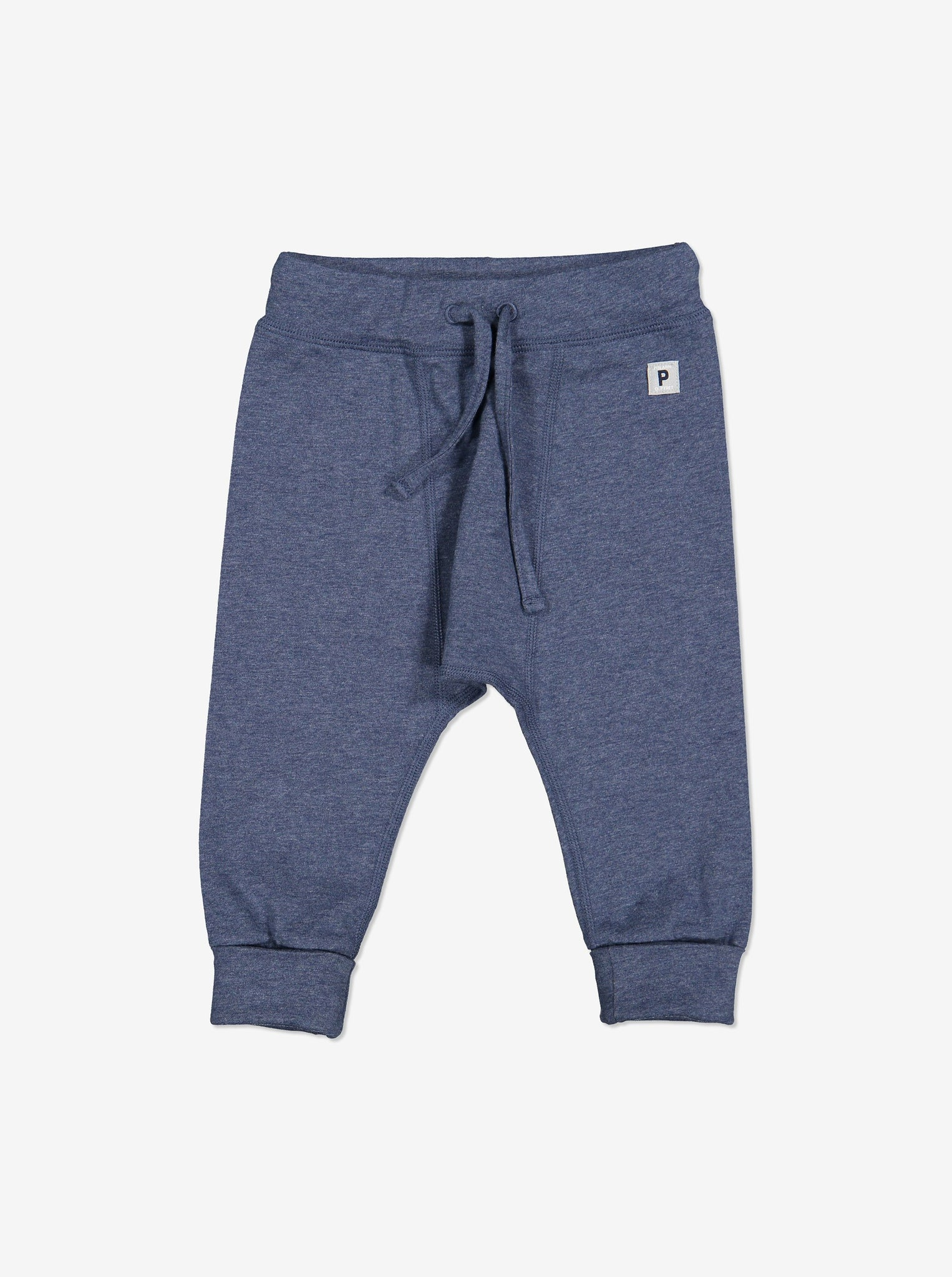 Soft Baby Trousers-Unisex-0-1y-Blue