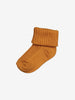 Baby Socks-Unisex-0-1y-Brown