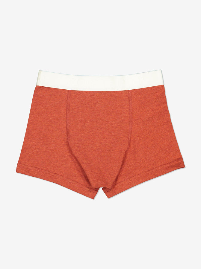 Boys Boxers-Boy-1-12y-Red