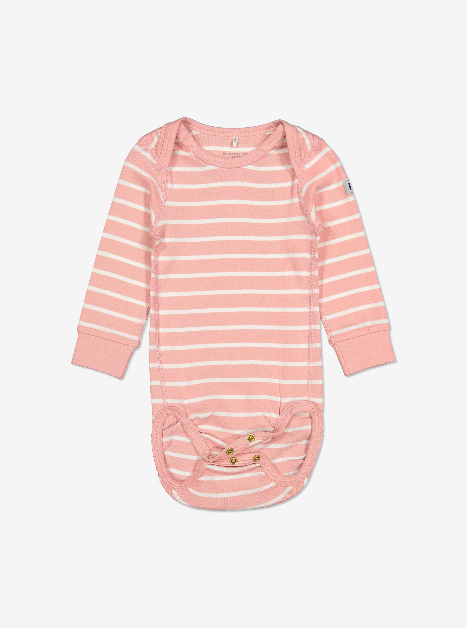 Striped Baby Bodysuit-Girl-Preterm-2y-Pink