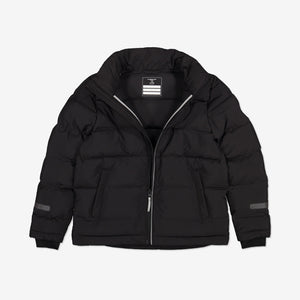 Kids Waterproof Puffer Jacket-6-12y-Black-Boy