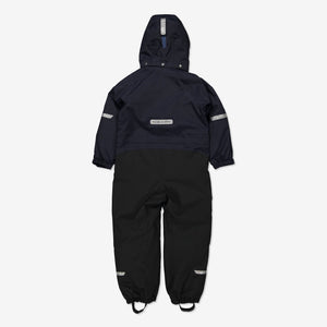 Padded Winter Kids Overall-1-8y-Navy-Boy