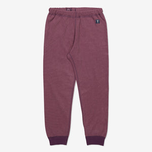 Kids Purple Thermal Fleece Trousers