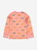 Cotton Lined Merino Kids Top-2-8y-Pink-Girl