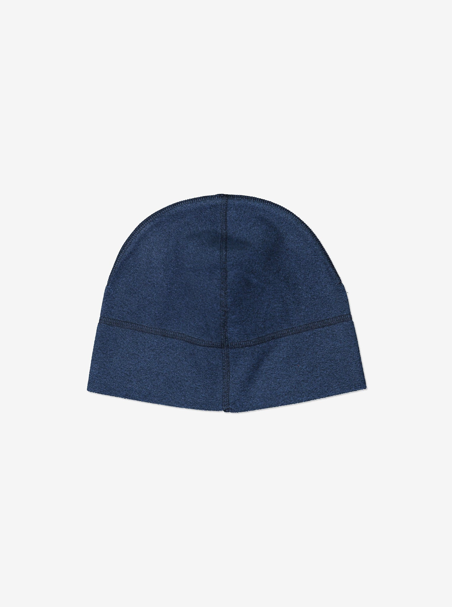 Kids Blue Fleece Lined Beanie Hat