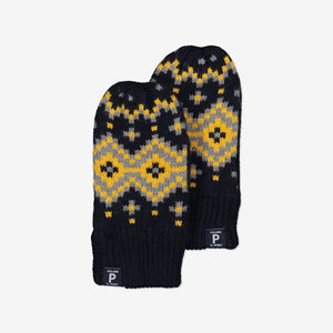 Nordic Wool Kids Gloves-6m-9y-Navy-Boy