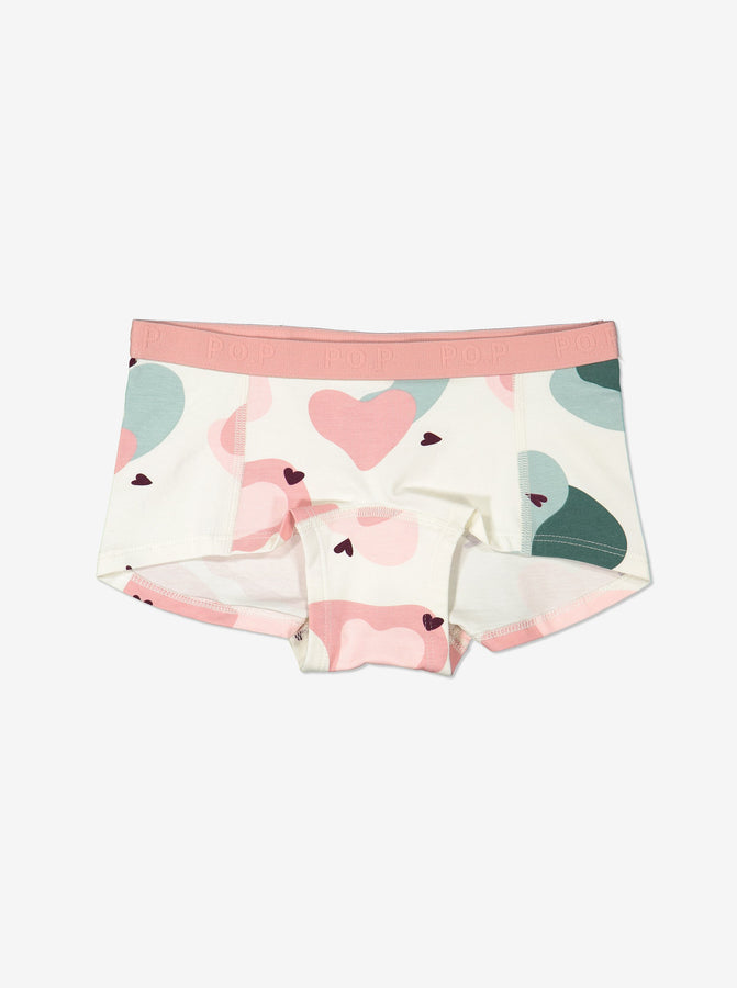 Girls Pink Boxer Briefs