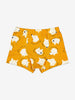 Boys Yellow Fox Print Boys Boxers 1-12y