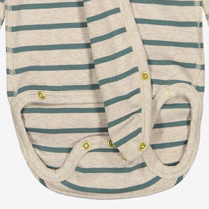 Striped Wraparound Babygrow