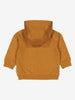 Newborn Baby Soft Cotton Brown Hoodie