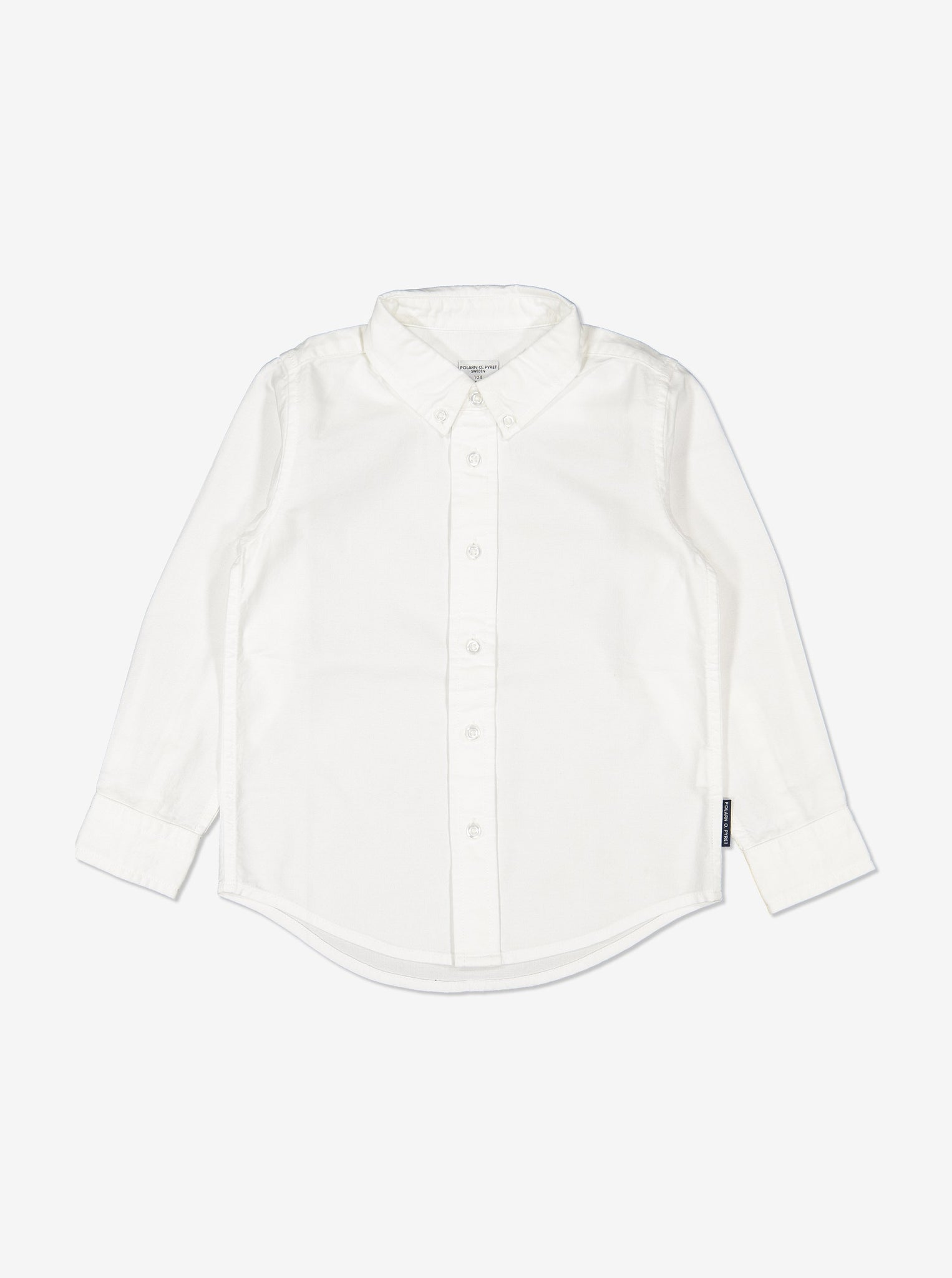 Boys White Kids White Shirt 1-12y