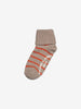 Girls Red Two Pack Antislip Kids Socks 4m-6y