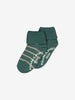 Boys Green Two Pack Antislip Kids Socks 4m-6y