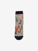 Boys Beige Three Pack Kids Socks 1-10y
