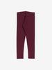 Girls Purple Organic Kids Leggings 6-12y