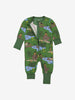 Kids Organic Cotton Jungle Book Onesie 0-4years Green Boy