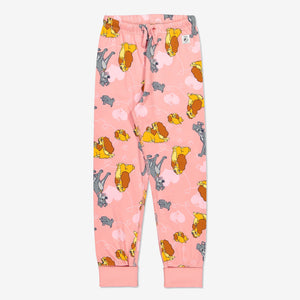 Kids Organic Cotton Lady & The Tramp Pyjamas 1-12years Pink Girl