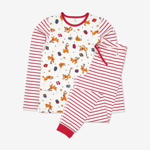 Adult Organic Cotton Pluto Pyjamas XS-XL Natural Unisex