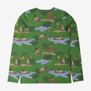 Adult Jungle Book Pyjamas XS-XL Green Unisex