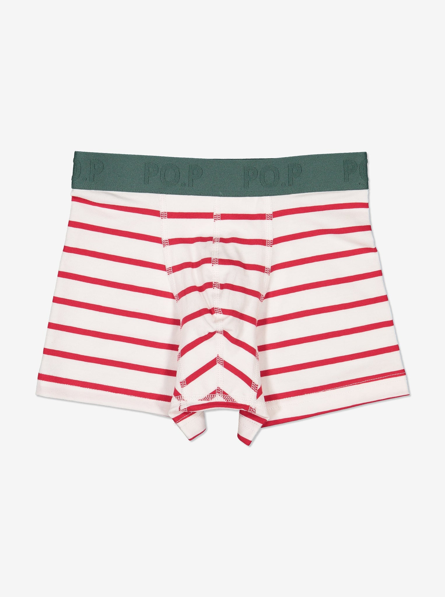 Boys Striped Boxer Shorts 1-12years Natural Boy