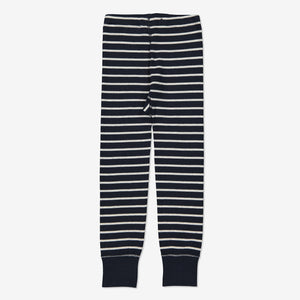 Kids Striped Leggings 1-8years Navy Boy