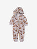 Chip 'n' Dale Organic Cotton Baby All-In-One 0-2years Grey Unisex