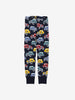 Kids Car Print Leggings 1-6years Navy Boy
