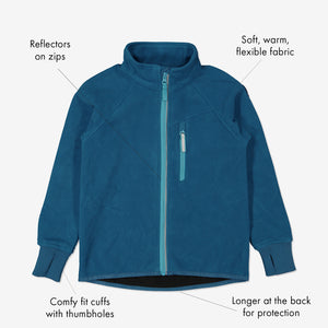 Kids Showerproof Fleece Jacket