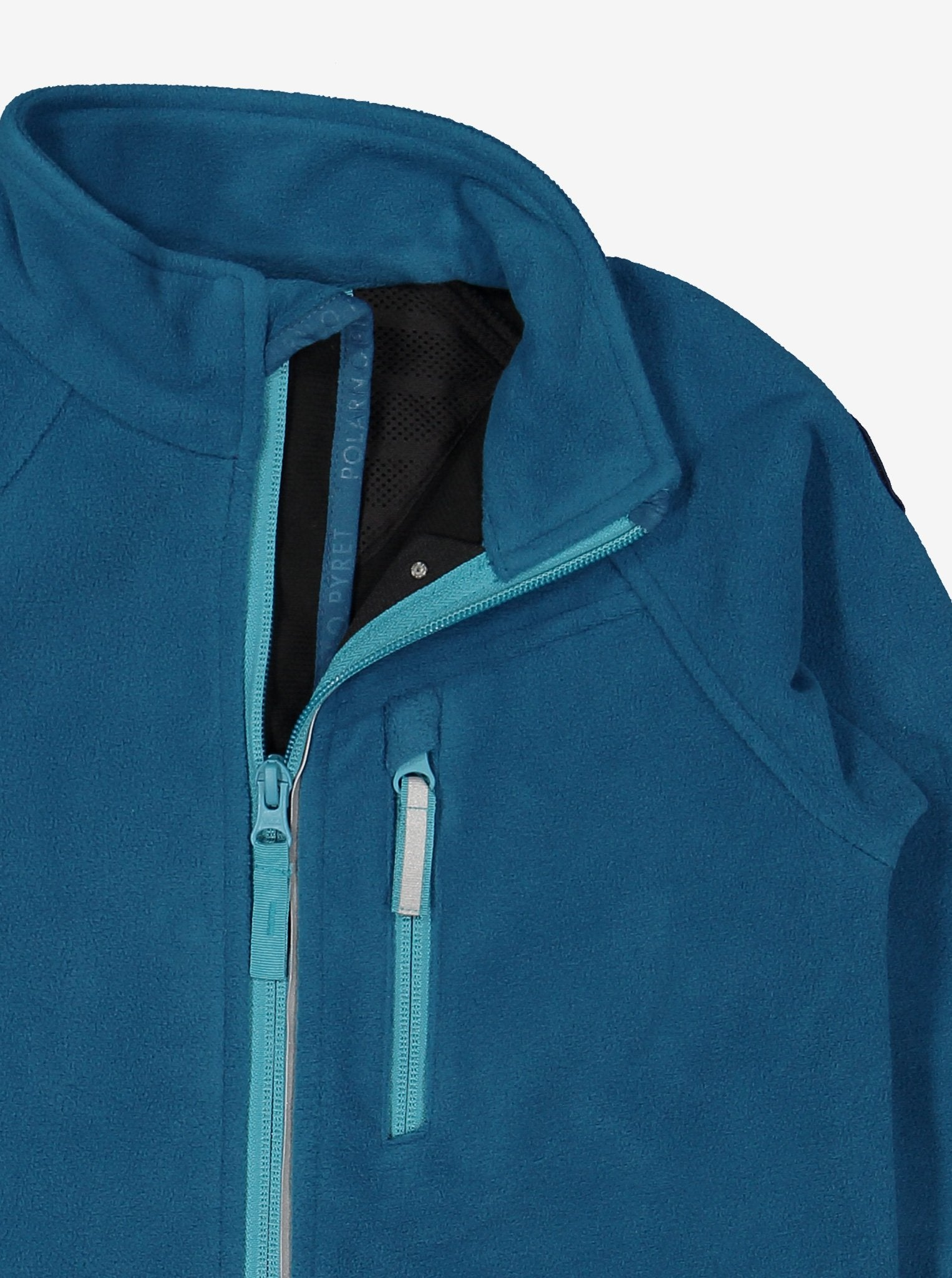 Kids Blue Fleece & Waterproof Jacket