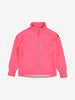 Kids Pink Fleece & Waterproof Jacket