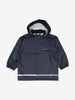 Kids Waterproof Navy Blue Raincoat