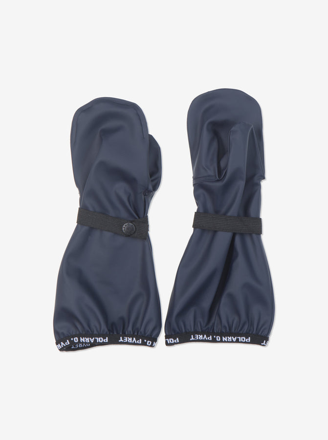 Kids navy Rain Gloves