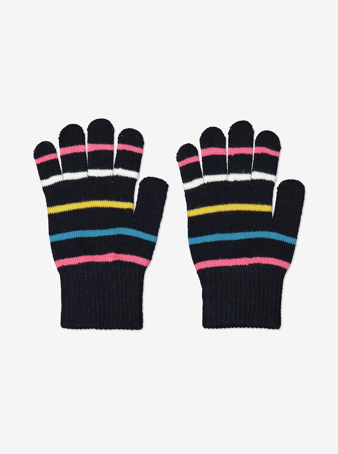 Kids Navy Magic Gloves